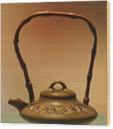 Chinese Teapot - A Symbol In Itself Wood Print