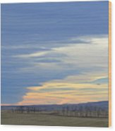 Chinook Panorama Wood Print