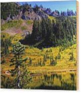 Chinook Pass Wood Print