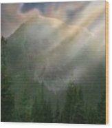 Chinook Vista Wood Print
