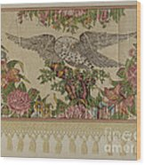 Chintz Valance For Poster Bed Wood Print