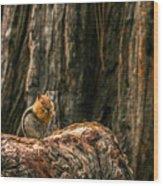 Chipper Wood Print