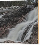Chippewa Cascade Wood Print