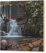 Chiricahua Mountain Snow Melt Wood Print