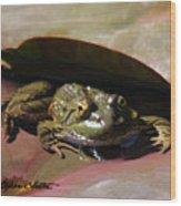 Chiricahua Leopard Frog Wood Print