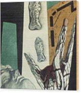 Chirico: Arch, 1914 Wood Print