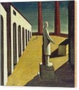 Chirico: Enigma, 1914 Wood Print