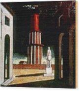 Chirico: Grand Tour, 1914 Wood Print