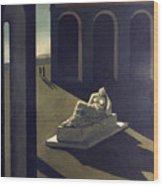 Chirico: Melancolie, 1914 Wood Print