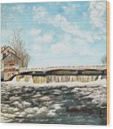 Chisholms Mill Wood Print