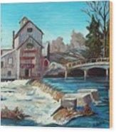 Chishom's Mill Wood Print