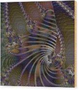 Chitin Layers Wood Print