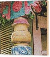 Chitra Museum Goa Wood Print