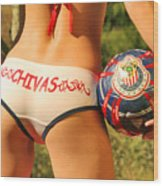 Chivas Soccer Wood Print