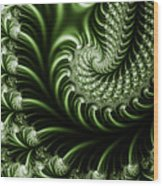 Chlorophyll Wood Print