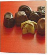 Chocolate Delight Wood Print
