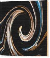 Chocolate Lick Wood Print