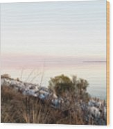 Choctawhatchee Bay Sunset Wood Print