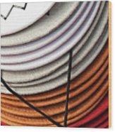 Choices - Western Hat Pileup Wood Print