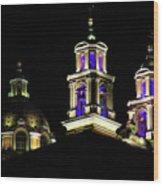 Cholula Church Wood Print