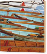 Choose Your Vessel Wood Print