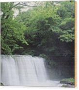 Chosi Otaki Falls Wood Print