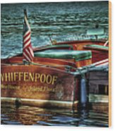 Chris Craft Continental - 1958 Wood Print
