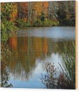 Chris Greene Lake - Reflections Wood Print