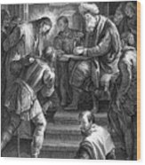 Christ Before Pilate Wood Print by Granger