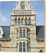 Christ Church College Oxford Architecture Wood Print