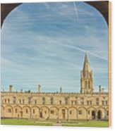 Christ Church College Oxford Wood Print