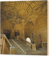 Christ Church Hall Entry Wood Print