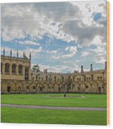 Christ Church Tom Quad Wood Print