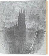 Christ Church, St. Louis Wood Print