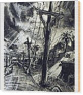 Christ Consciousness Wood Print by Richard Mclean