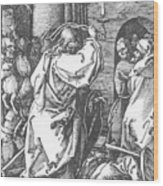Christ Driving The Merchants From The Temple 1511 Wood Print
