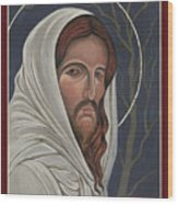 Christ Enters Gethsemane Wood Print