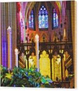 Christ Is Born Travel Wood Print