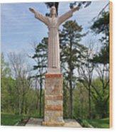 Christ Of The Ohio Wood Print