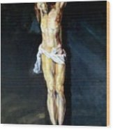 Christ On The Cross After Peter Paul Rubens Wood Print