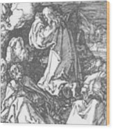 Christ On The Mount Of Olives 1511 Wood Print