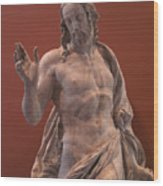 Christ Statue. The Louvre Wood Print