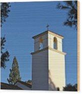 Christ The King Chapel Tower Wood Print