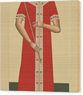 Christ The King The Bridegroom 066 Wood Print