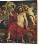 Christ Triumphant Over Sin And Death Wood Print