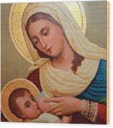 Christianity - Baby Jesus Wood Print
