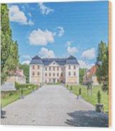 Christinehofs Slott Entrance Wood Print