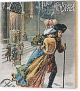Christmas, 1890 Wood Print