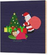Christmas #2 No Text Wood Print