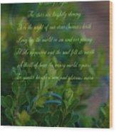 Christmas 5 Wood Print